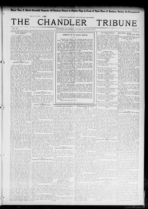 Primary view of object titled 'The Chandler Tribune (Chandler, Okla.), Vol. 15, No. 25, Ed. 1 Thursday, August 12, 1915'.