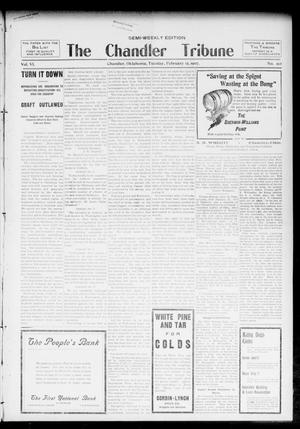 Primary view of object titled 'The Chandler Tribune (Chandler, Okla.), Vol. 6, No. 99, Ed. 1 Tuesday, February 12, 1907'.