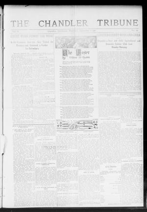 Primary view of object titled 'The Chandler Tribune (Chandler, Okla.), Vol. 11, No. 29, Ed. 1 Thursday, September 21, 1911'.