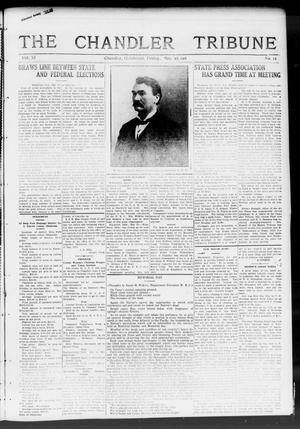 Primary view of object titled 'The Chandler Tribune (Chandler, Okla.), Vol. 11, No. 12, Ed. 1 Friday, May 26, 1911'.