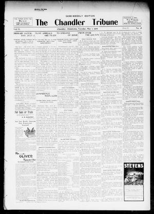 Primary view of object titled 'The Chandler Tribune (Chandler, Okla.), Vol. 6, No. 18, Ed. 1 Tuesday, May 1, 1906'.