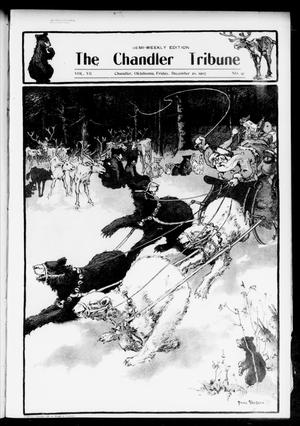 Primary view of object titled 'The Chandler Tribune (Chandler, Okla.), Vol. 7, No. 91, Ed. 1 Friday, December 20, 1907'.