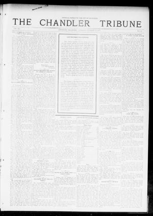 Primary view of object titled 'The Chandler Tribune (Chandler, Okla.), Vol. 15, No. 34, Ed. 1 Thursday, October 14, 1915'.