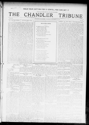 Primary view of object titled 'The Chandler Tribune (Chandler, Okla.), Vol. 15, No. 32, Ed. 1 Thursday, September 30, 1915'.