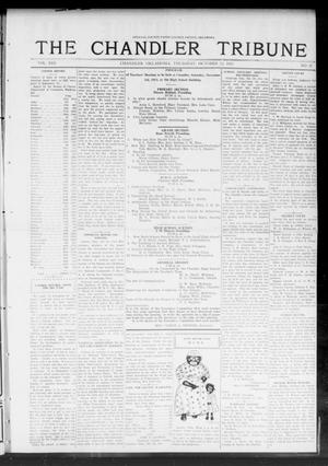 Primary view of object titled 'The Chandler Tribune (Chandler, Okla.), Vol. 13, No. 34, Ed. 1 Thursday, October 23, 1913'.