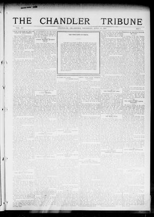 Primary view of object titled 'The Chandler Tribune (Chandler, Okla.), Vol. 15, No. 8, Ed. 1 Thursday, April 15, 1915'.
