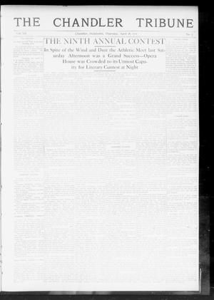 Primary view of object titled 'The Chandler Tribune (Chandler, Okla.), Vol. 12, No. 7, Ed. 1 Thursday, April 18, 1912'.
