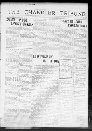 Primary view of object titled 'The Chandler Tribune (Chandler, Okla.), Vol. 13, No. 37, Ed. 1 Thursday, November 13, 1913'.