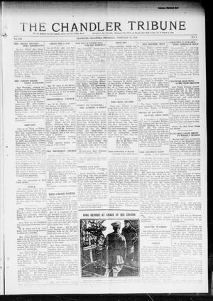 Primary view of object titled 'The Chandler Tribune (Chandler, Okla.), Vol. 19, No. 3, Ed. 1 Thursday, February 13, 1919'.