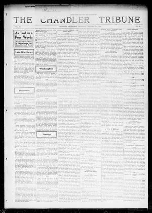 Primary view of object titled 'The Chandler Tribune (Chandler, Okla.), Vol. 15, No. 46, Ed. 1 Thursday, January 6, 1916'.