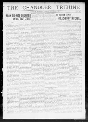Primary view of object titled 'The Chandler Tribune (Chandler, Okla.), Vol. 12, No. 40, Ed. 1 Thursday, December 5, 1912'.