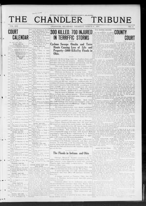 Primary view of object titled 'The Chandler Tribune (Chandler, Okla.), Vol. 13, No. 4, Ed. 1 Thursday, March 27, 1913'.