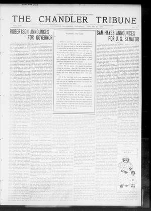 Primary view of object titled 'The Chandler Tribune (Chandler, Okla.), Vol. 13, No. 41, Ed. 1 Thursday, January 15, 1914'.