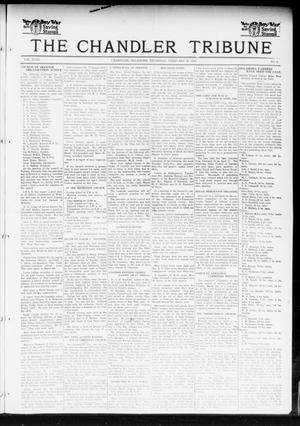 Primary view of object titled 'The Chandler Tribune (Chandler, Okla.), Vol. 18, No. 2, Ed. 1 Thursday, February 28, 1918'.