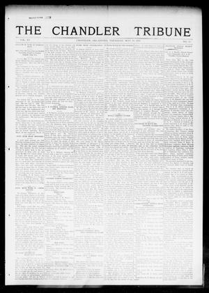 Primary view of object titled 'The Chandler Tribune (Chandler, Okla.), Vol. 15, No. 13, Ed. 1 Thursday, May 20, 1915'.