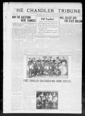 Primary view of object titled 'The Chandler Tribune (Chandler, Okla.), Vol. 13, No. 18, Ed. 1 Thursday, July 3, 1913'.