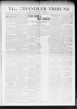 Primary view of object titled 'The Chandler Tribune (Chandler, Okla.), Vol. 19, No. 42, Ed. 1 Thursday, November 13, 1919'.