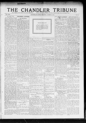 Primary view of object titled 'The Chandler Tribune (Chandler, Okla.), Vol. 18, No. 34, Ed. 1 Thursday, October 10, 1918'.