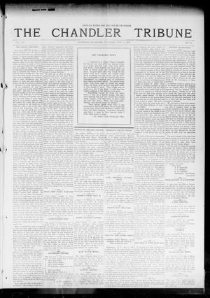 Primary view of object titled 'The Chandler Tribune (Chandler, Okla.), Vol. 15, No. 20, Ed. 1 Thursday, July 8, 1915'.