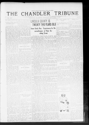 Primary view of object titled 'The Chandler Tribune (Chandler, Okla.), Vol. 13, No. 30, Ed. 1 Thursday, September 25, 1913'.