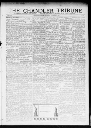 Primary view of object titled 'The Chandler Tribune (Chandler, Okla.), Vol. 18, No. 39, Ed. 1 Thursday, November 14, 1918'.