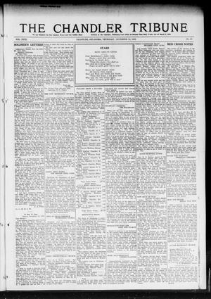 Primary view of object titled 'The Chandler Tribune (Chandler, Okla.), Vol. 18, No. 44, Ed. 1 Thursday, December 19, 1918'.