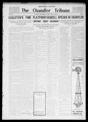 Primary view of object titled 'The Chandler Tribune (Chandler, Okla.), Vol. 7, No. 22, Ed. 1 Friday, May 3, 1907'.