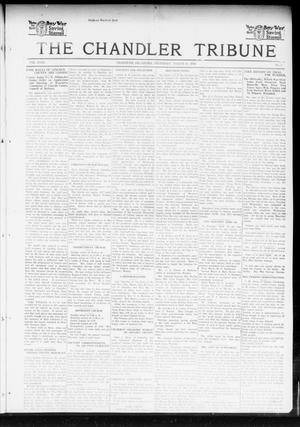 Primary view of object titled 'The Chandler Tribune (Chandler, Okla.), Vol. 18, No. 5, Ed. 1 Thursday, March 21, 1918'.