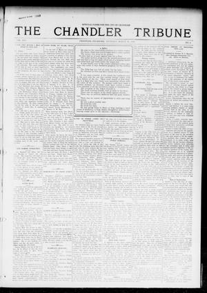 Primary view of object titled 'The Chandler Tribune (Chandler, Okla.), Vol. 16, No. 6, Ed. 1 Thursday, March 30, 1916'.