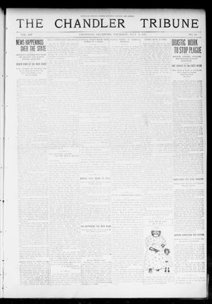 Primary view of object titled 'The Chandler Tribune (Chandler, Okla.), Vol. 14, No. 20, Ed. 1 Thursday, July 9, 1914'.