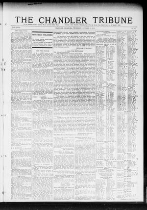 Primary view of object titled 'The Chandler Tribune (Chandler, Okla.), Vol. 18, No. 37, Ed. 1 Thursday, October 31, 1918'.