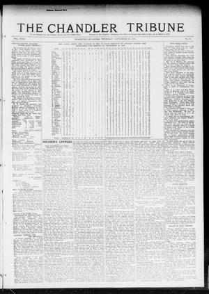Primary view of object titled 'The Chandler Tribune (Chandler, Okla.), Vol. 18, No. 31, Ed. 1 Thursday, September 19, 1918'.