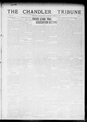 Primary view of object titled 'The Chandler Tribune (Chandler, Okla.), Vol. 15, No. 3, Ed. 1 Thursday, March 11, 1915'.