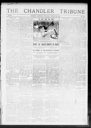 Primary view of object titled 'The Chandler Tribune (Chandler, Okla.), Vol. 11, No. 50, Ed. 1 Thursday, February 15, 1912'.