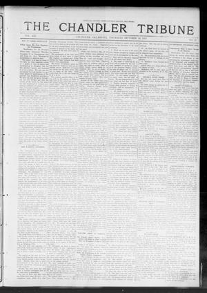 Primary view of object titled 'The Chandler Tribune (Chandler, Okla.), Vol. 13, No. 35, Ed. 1 Thursday, October 30, 1913'.