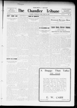 Primary view of object titled 'The Chandler Tribune (Chandler, Okla.), Vol. 6, No. 35, Ed. 1 Friday, June 29, 1906'.