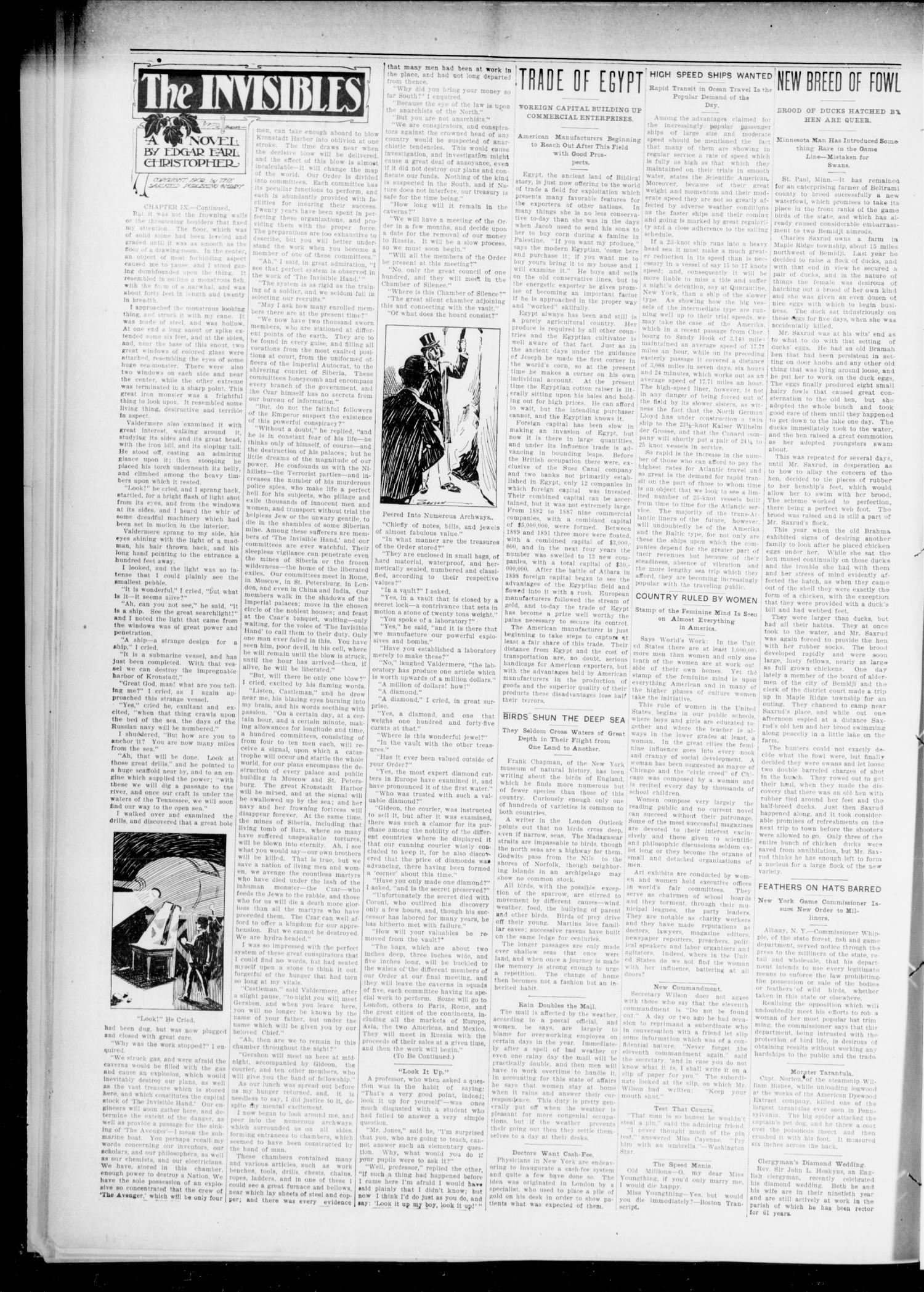The Chandler Tribune (Chandler, Okla.), Vol. 6, No. 35, Ed. 1 Friday, June 29, 1906                                                                                                      [Sequence #]: 2 of 6