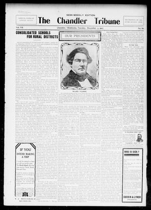 Primary view of object titled 'The Chandler Tribune (Chandler, Okla.), Vol. 7, No. 86, Ed. 1 Tuesday, December 3, 1907'.