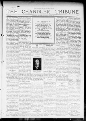Primary view of object titled 'The Chandler Tribune (Chandler, Okla.), Vol. 15, No. 21, Ed. 1 Thursday, July 15, 1915'.