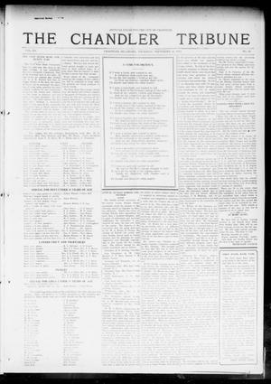 Primary view of object titled 'The Chandler Tribune (Chandler, Okla.), Vol. 15, No. 30, Ed. 1 Thursday, September 16, 1915'.
