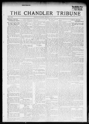 Primary view of object titled 'The Chandler Tribune (Chandler, Okla.), Vol. 18, No. 20, Ed. 1 Thursday, July 4, 1918'.