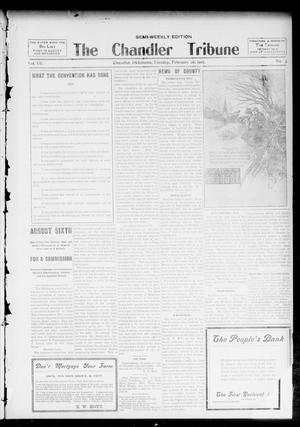 Primary view of object titled 'The Chandler Tribune (Chandler, Okla.), Vol. 7, No. 3, Ed. 1 Tuesday, February 26, 1907'.