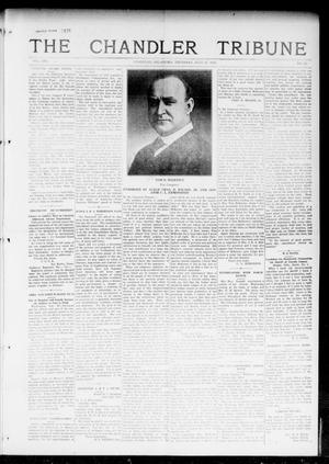 Primary view of object titled 'The Chandler Tribune (Chandler, Okla.), Vol. 16, No. 23, Ed. 1 Thursday, July 27, 1916'.