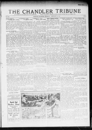Primary view of object titled 'The Chandler Tribune (Chandler, Okla.), Vol. 19, No. 4, Ed. 1 Thursday, February 20, 1919'.