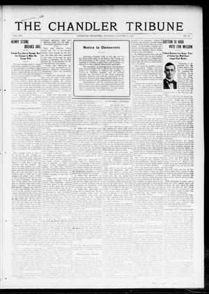 Primary view of object titled 'The Chandler Tribune (Chandler, Okla.), Vol. 16, No. 34, Ed. 1 Thursday, October 12, 1916'.