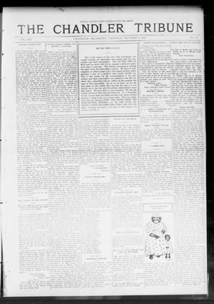 Primary view of object titled 'The Chandler Tribune (Chandler, Okla.), Vol. 13, No. 32, Ed. 1 Thursday, October 9, 1913'.