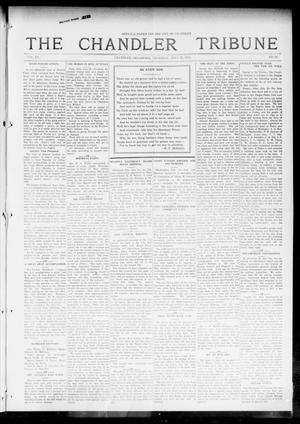 Primary view of object titled 'The Chandler Tribune (Chandler, Okla.), Vol. 15, No. 22, Ed. 1 Thursday, July 22, 1915'.