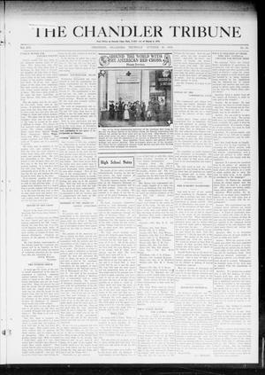 Primary view of object titled 'The Chandler Tribune (Chandler, Okla.), Vol. 19, No. 38, Ed. 1 Thursday, October 16, 1919'.