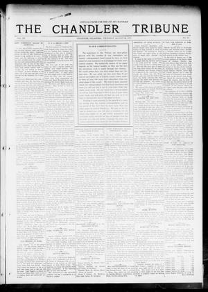 Primary view of object titled 'The Chandler Tribune (Chandler, Okla.), Vol. 15, No. 27, Ed. 1 Thursday, August 26, 1915'.