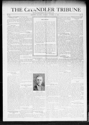 Primary view of object titled 'The Chandler Tribune (Chandler, Okla.), Vol. 19, No. 41, Ed. 1 Thursday, November 6, 1919'.